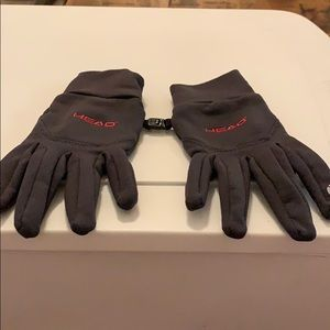 Tech winter gloves